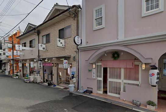 松島新地の料亭の外観画像